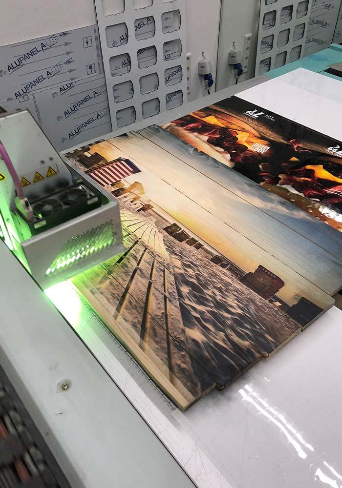 Bilder Druck auf Holz
