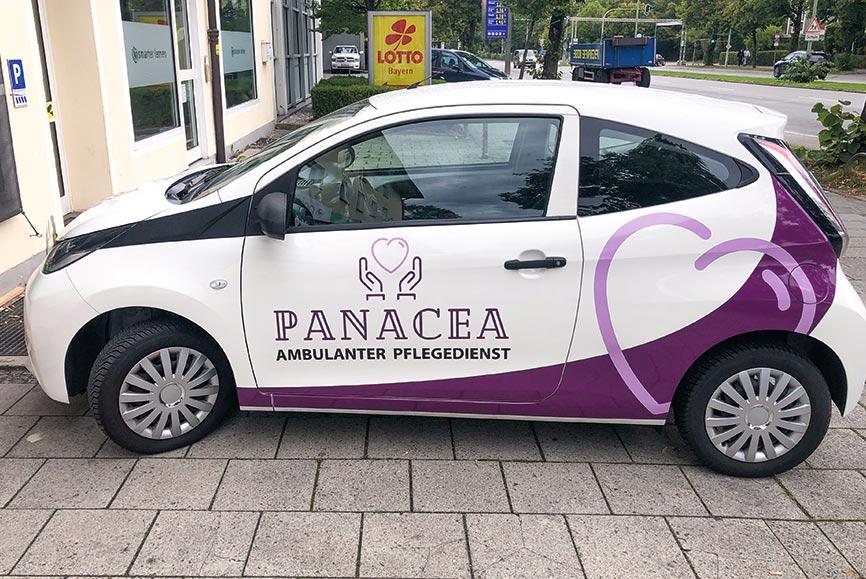 Rahmenverträge Fahrzeugbeschriftung Altenpflege