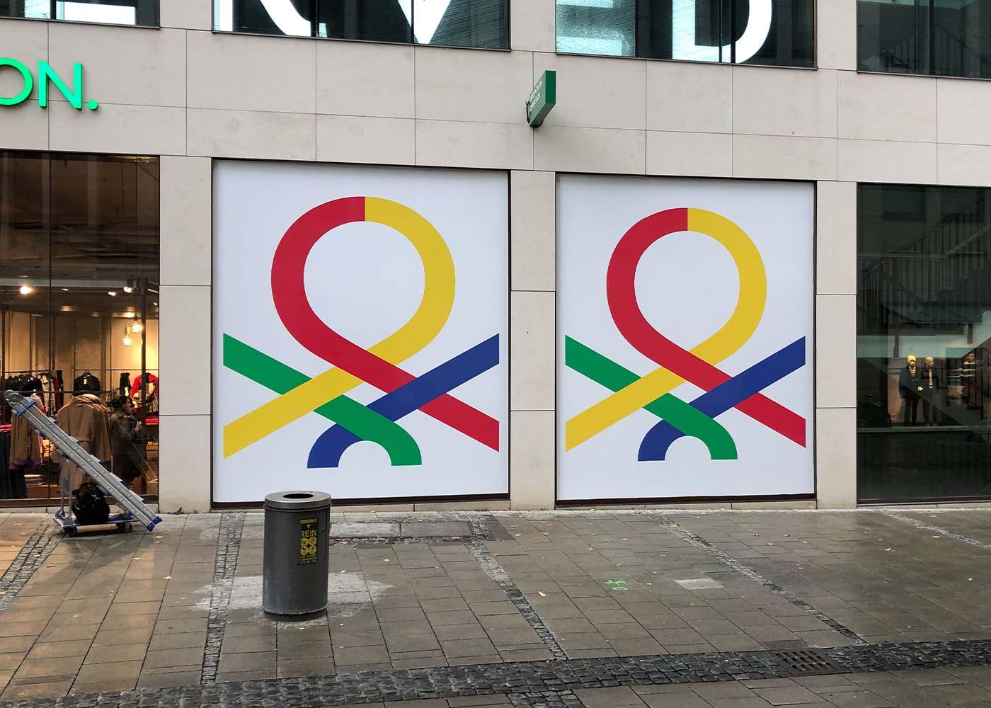 Schaufenster Folierung in München