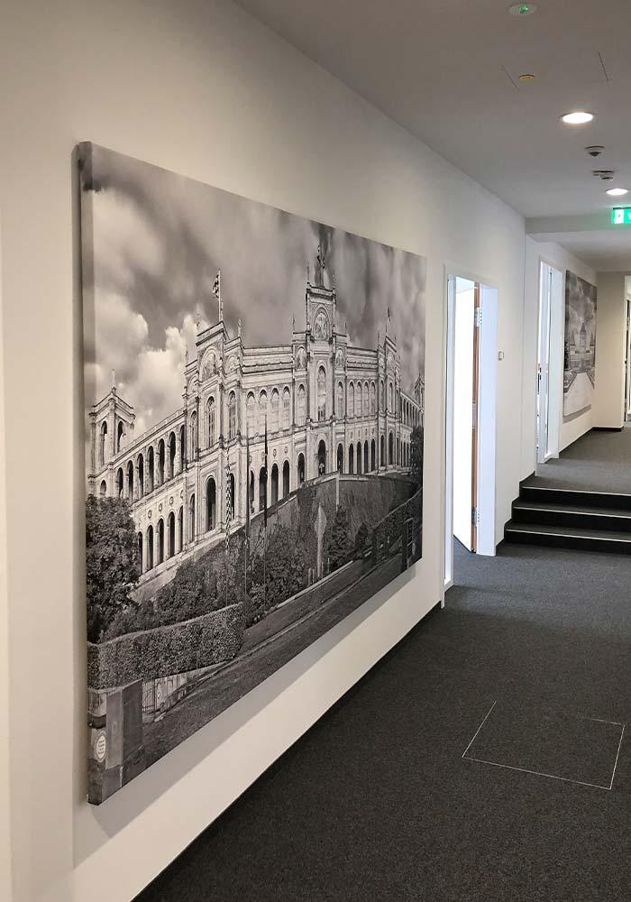 Bilder Druck auf Canvas mit Keilrahmen im XXXL Format